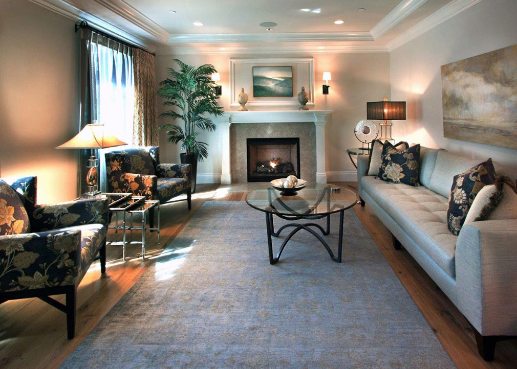 Living room interior design bay area interior designer for Living area interior