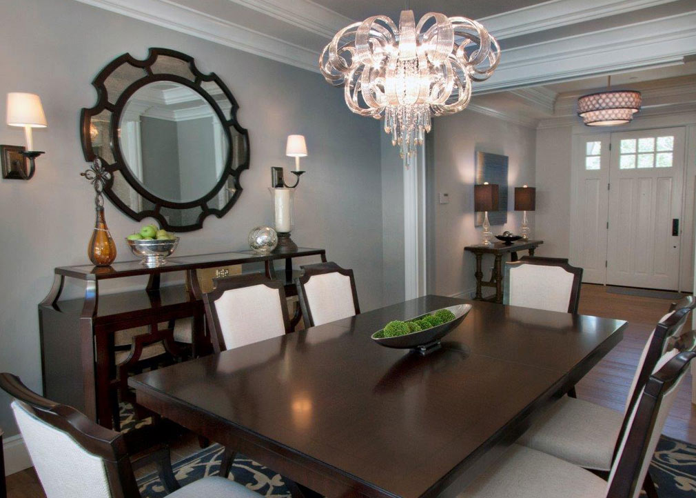Dining room interior designer bay area interior designer walnut creek window treatments - Design for dining room ...