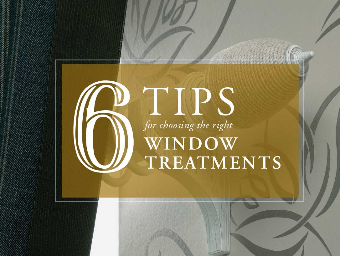 How To Choose The Right Window Treatments First Impressions