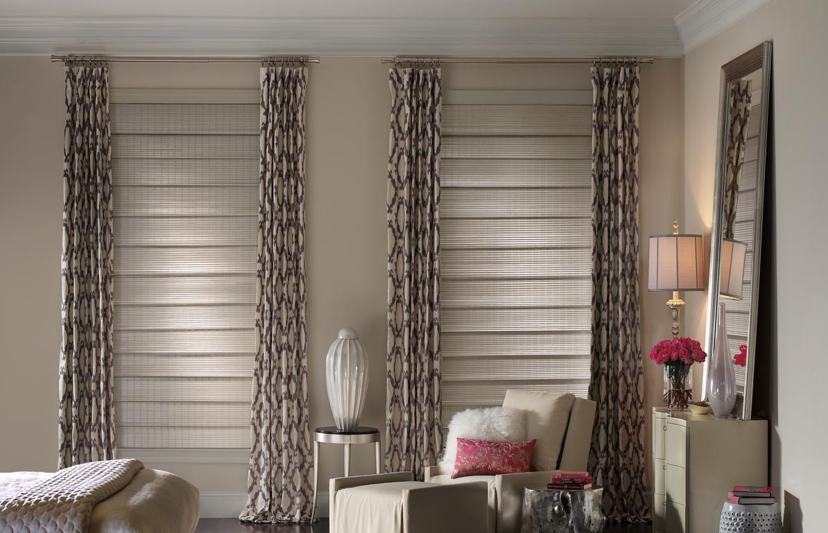 Bedroom Window Shades & Drapes