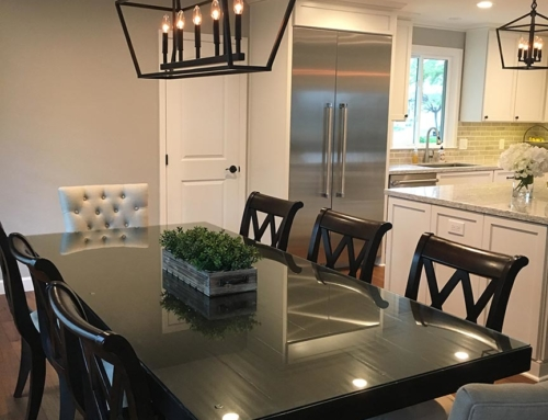 Transitional Dining Room Design – Clayton