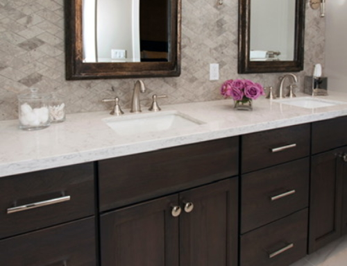 Master Bathroom Remodel – Alamo – Close Up Cabinets
