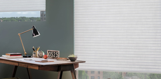 Buy Hunter Douglas Sonette® Window Shades in Walnut Creek