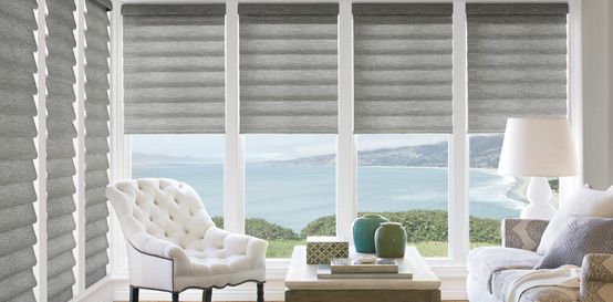 Buy Hunter Douglas Vignette® Window Shades in Walnut Creek